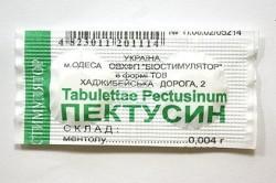 Пектусин для лечения кашля