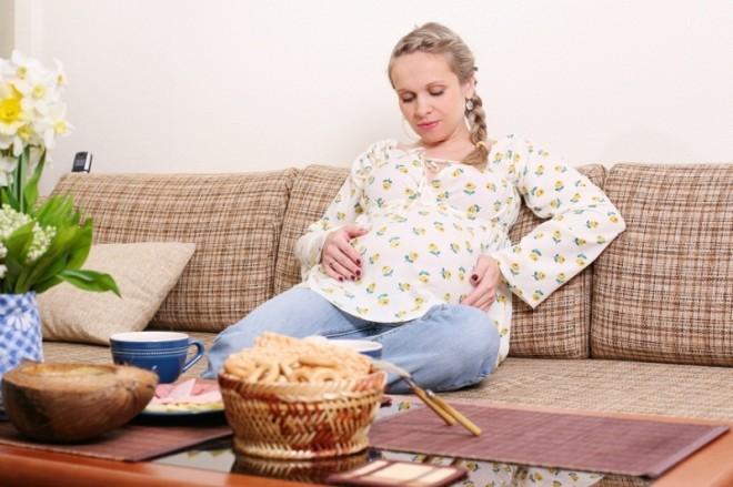 Желудок при беременности