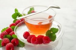 Чай с малиной при заложенности носа