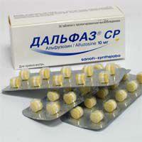 Альфузозин от простатита