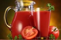 Томатный сок при ожирении
