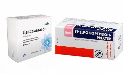 Гидрокортизон и Дексаметазон используются при терапии тяжелых патологий