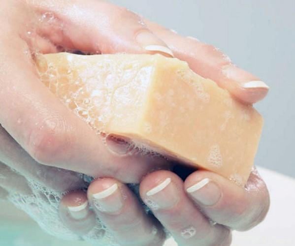 Подмывания хозяйственным мылом