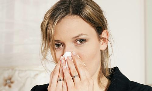 Насморк при простудных болезнях