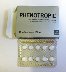 Фенотропил (фонтурацетам) - нейрометаболический стимулятор ноотропного действия