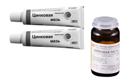 Цинковая мазь или паста, содержащие соединение цинка с кислородом, помогают избавиться от многих дерматологических проблем