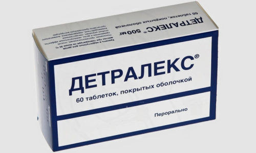 Среди самых популярных и действенных венотоников выделяют препарат Детралекс