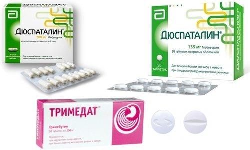 Дюспаталин выпускается в форме таблеток и капсул, а Тримедат представлен в продаже в таблетированной форме в нескольких дозировках