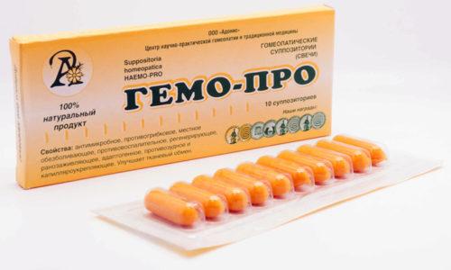 Гемо-Про - многокомпонентное лекарственное средство с выраженным гомеопатическим эффектом