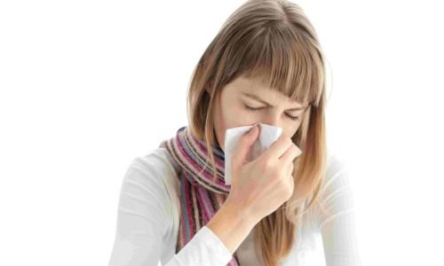 Заболевание насморком