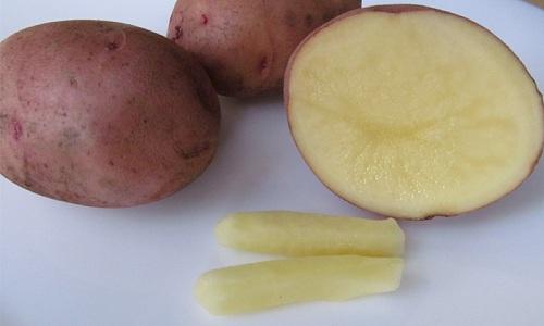 Свечу из картофеля лучше оставить в прямой кишке на всю ночь