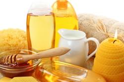 Польза меда для горла