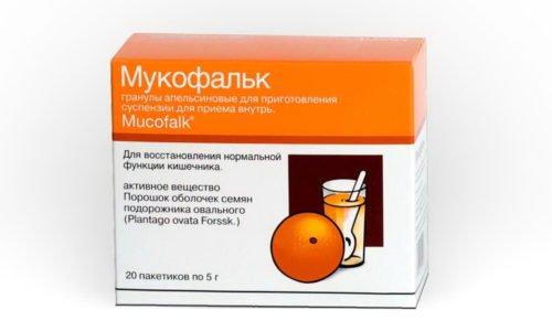 Наиболее близким аналогом данного средства является препарат Мукофальк. Однако он зарегистрирован в качестве фармацевтического средства