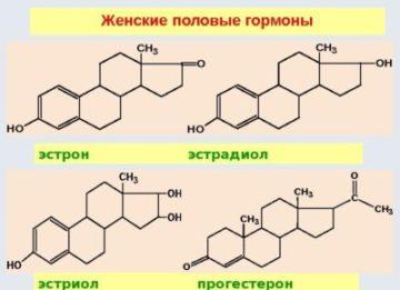 Виды и применение женских половых гормонов в таблетках