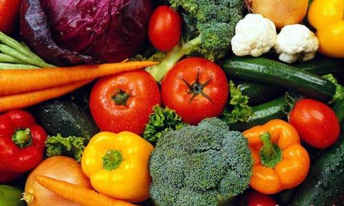Основу диеты ребенка при цистите должна составлять растительная пища