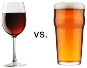 Пиво или вино