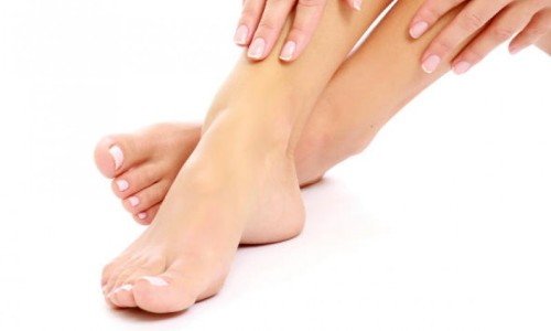 Удаление волос на ногах