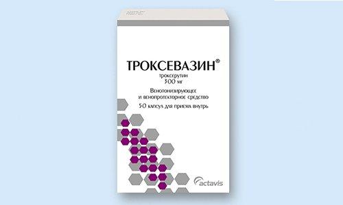 Троксевазин - ангиопротекторное средство, используемое для лечения варикозной болезни и венозной недостаточности