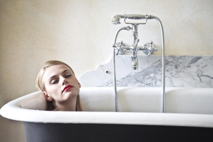 Прохладная ванна