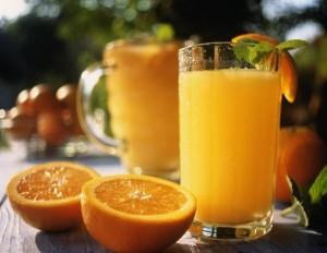 Опельсиновый сок на завтрак