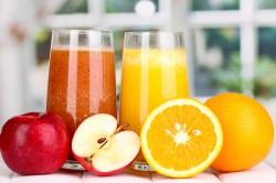 Польза фруктовых соков при язве во рту