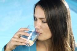 Употребление воды при ожирении
