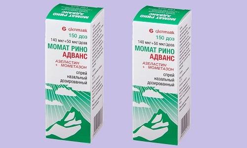 Момат Рино Адванс - это комбинированное средство продолжительного воздействия, имеющее противоаллергические и противовоспалительные свойства