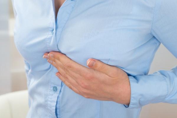 Зуд в области груди
